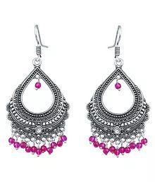 Waama Jewels Silver Chandelier Earring