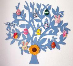 1001 Feltros - Easter Tree