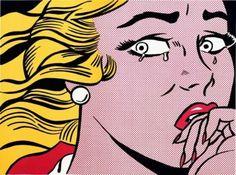Roy Lichtenstein, Crying Girl, 1963.