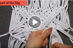 close knit, embroidery, learn to knitclose knit, embroider Macrame Dress, Macrame Owl, Macrame Purse, Macrame Earrings, Macrame Knots, Diy Earrings, Macrame Tutorial, Macrame Projects, Macrame Patterns