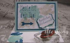"""Geburtstagskarte mit Stampin' Up! """"Work of Art"""""""