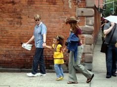 David with his family in happier times
