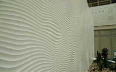 Atrium Court ft. Muraspec's Decorative Panels! #Interiors #Decorative #Panels #InteriorDesign #Muraspec