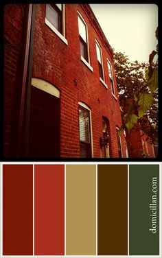 1000 Images About Colors The Compliment Red Brick