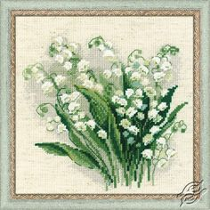 Lilly of the Valley - Cross Stitch Craft Kits by RIOLIS - 1497