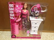 Barbie Doll Fashion Fever Teresa Dresser Room Bedroom Furniture Accessory Rare