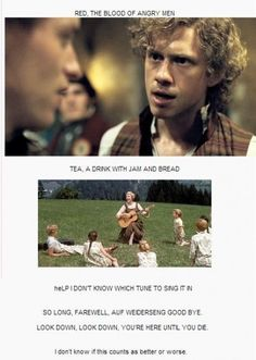 I know it's the movie, but it is the musical I thought of so, HA!