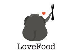 LOVE FOOD - Logo Design on Behance