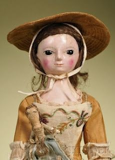 Queen Anne doll from the 1600's through the 1800's...