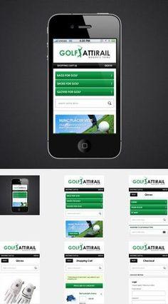 EM Golf Magento Mobile Template