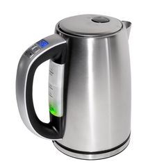 This intelligent, digitally-powered kettle offers 360-degree base rotation over a concealed, stainless steel heating element and is powered by quality Strix controls. Its large, 1.7 litre capacity can fuel countless coffee breaks, with four temperature control settings for reaching the perfect refreshment for your mood.