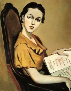 Balthus (1908-2001), 1935, Portrait of Sheila Pickering