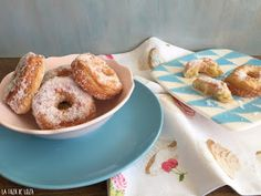 Rosquillas Italianas (Ciambelle) Pan Dulce, Biscuits, Churros, Bagel, Doughnut, Italian Recipes, Donuts, Deserts, Food And Drink