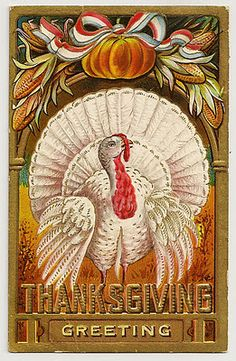 Free Vintage Thanksgiving Post Cards