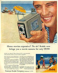 Kodak Movie Camera Ad 1956