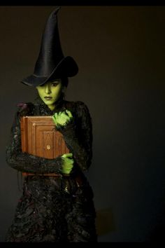 Elphaba~okay this is pretty unrealistic since I could never belt out Defying Gravity but you just never know! :)