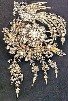 Late-Ottoman brooch, 19th century.