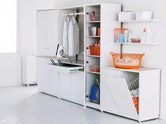 A lavanderia merece uma atenção especial quando o assunto é organização. Confira como arrumá-la com funcionalidade e praticidade!