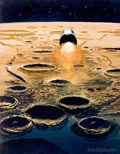 Apollo 8 Over the Moon
