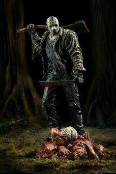 Jason Voorhees-Friday The 13th.......