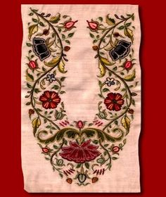 a7aeef2a024 embroidery ( cobblar s huck embroidery) worked by men in onlu kutchi mochi  community. But