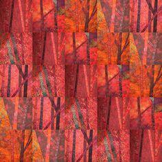 Minka's Studio: 500 Art Quilt - Out on a Limb Tree Quilt, Quilt Art, Bird Quilt, Modern Quilt Patterns, Quilt Modern, Batik Quilts, Textile Fiber Art, Landscape Quilts, Strip Quilts