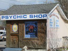 """Psychic Shop""- Santa Cruz"