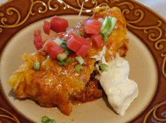 "What is a Poblanada you ask??? It is an enchilada with a key ingredient - Fire roasted Poblano peppers..... Soooo good!!! I made these tonite for dinner and Noooo left overs!!!! My family LOVED them!!! If you have never tried a fire roasted poblano pepper - I encourage you to try one today! They are amazing!!! They are not spicy at all - they are like a bell pepper but it is a bit more ""peppery"" than a bell. They are amazing when they've been roasted!"