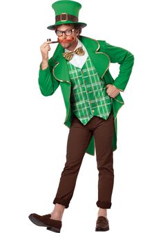 Charming Lucky Leprechaun Costume - Fairy Tale Costumes at Escapade