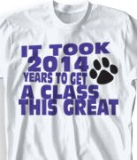 2014 senior t shirts | Senior Class T-Shirts - Cool Class of 2014 T Shirts - High School Tees