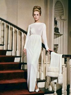 "Tippi Hedren en ""Marnie la ladrona"", 1964"