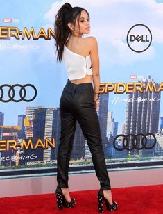 """Jenna Ortega at the """"Spider-Man: Homecoming"""" premiere held at the TCL Chinese Theatre in Los Angeles, California, on June 28, 2017"""