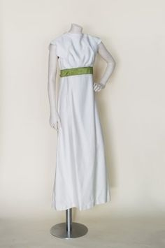 1960s maxi wedding dress from Dalena Vintage