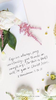 Weekly Truth Day 7 of the 1 & 2 Thessalonians: Letters of Encouragement reading plan from She Reads Truth.<br> Women in the Word of God every day. Bible Verses Quotes, Bible Scriptures, Faith Quotes, Morning Bible Quotes, Forgiveness Quotes, Scripture Art, Jesus Quotes, Letter Of Encouragement, 1 Thessalonians 5 16