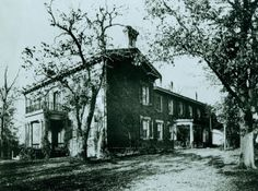 McCausland residence in Lexington, MO used as a hospital during the Civil War. Missouri History Museum