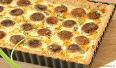 tarta-manitaria-03 Pepperoni, Quiche, Muffin, Pizza, Breakfast, Recipes, Food, Pies, Morning Coffee