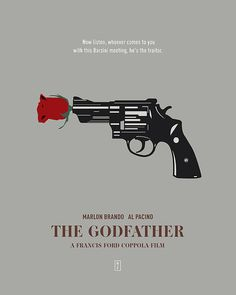 THE GODFATHER: Minimalist Movi. poster by from collection. The Godfather Poster, The Godfather Wallpaper, Godfather Quotes, Godfather Movie, Gangster Movies, Comedy Movies, Gangsters, Der Pate Poster, Godfather Tattoo