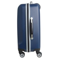 NFL New England Patriots Mojo Carry-On Hardcase Spinner Luggage - Navy