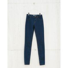 Jeans BSK básico super skinny - Jeans - Bershka España via Polyvore featuring jeans, skinny jeans, bershka jeans, skinny leg jeans, skinny fit jeans и super skinny jeans