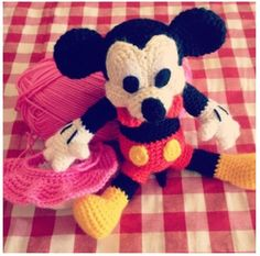 Amigurumi Mickey Mouse