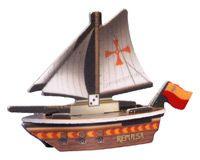 """PotSM 072 - Spanish ship """"La Repulsa"""""""