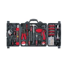 Apollo Precision Tools DT0738 161 Piece Household Tool Kit ($50) ❤ liked on Polyvore featuring home and home improvement