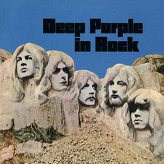 Deep Purple - Deep Purple In Rock on Limited Edition 180g LP
