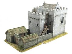 Tabletop Fix: Total Battle Miniatures - New Early Medieval Range Medieval Castle Layout, Medieval Houses, Medieval Armor, Medieval Fantasy, History Medieval, Medieval Times, Ancient History, Minecraft Castle, Minecraft Medieval