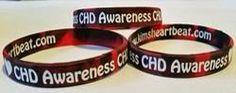 CHD awareness bracelets