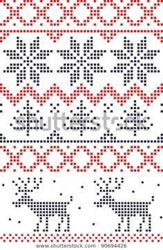 Find Scandinavian Seamless Pattern stock images in HD and millions of other royalty-free stock photos, illustrations and vectors in the Shutterstock collection.  Thousands of new, high-quality pictures added every day. En Stock, Cross Stitch Embroidery, Vectors, Scandinavian, Knit Crochet, Royalty Free Stock Photos, Knitting, Illustration, Pictures