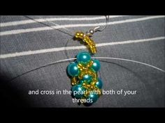 ▶ How to make a pair of earrings with pearls - YouTube