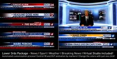 Broadcast Design - News Lower Third Package1