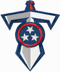 Titans Sword Emroidery