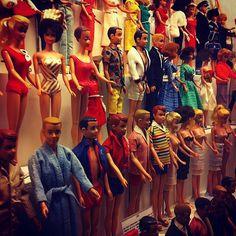 Pix from a European Barbie museum! #mattel #barbiecollector #barbiedoll #kencollector #allansherwood by bjbear71